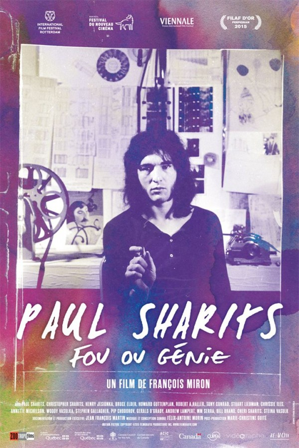 Affiche du film Paul Sharits