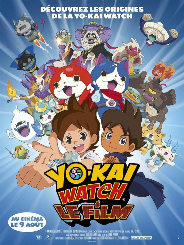 Affiche du film Yo-Kai Watch : le film