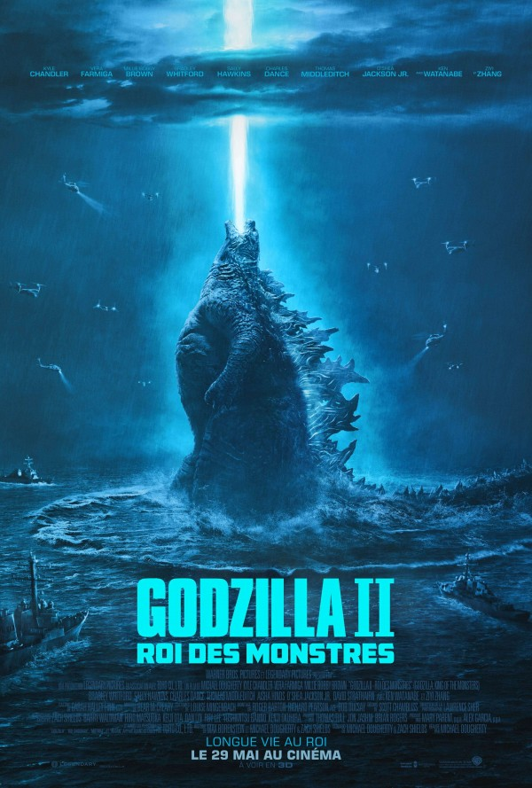 Affiche du film Godzilla : King of the Monsters