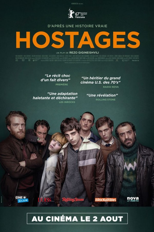 Affiche du film Hostages