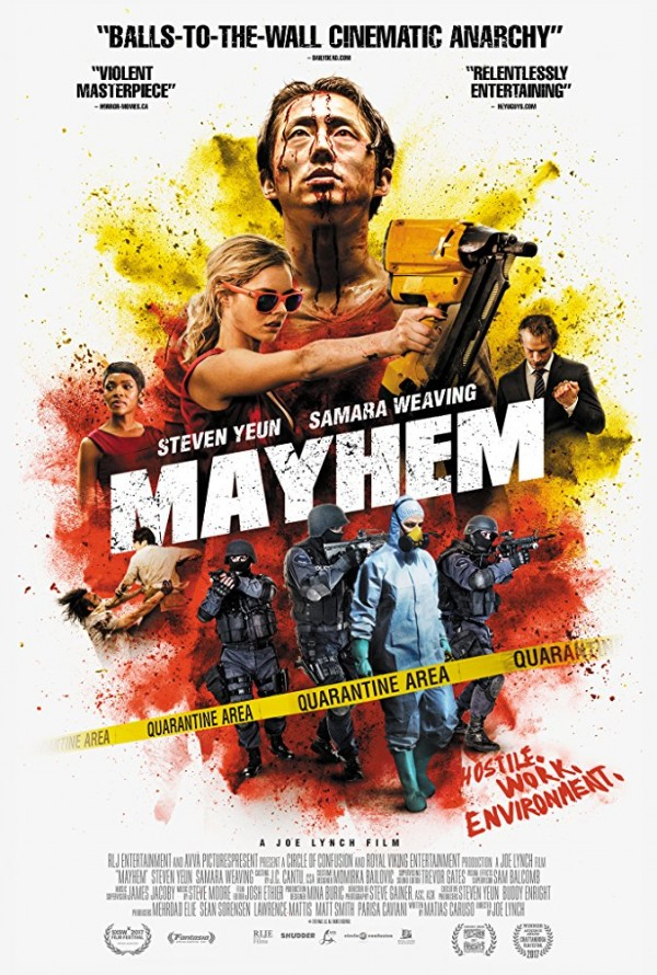 Affiche du film Mayhem