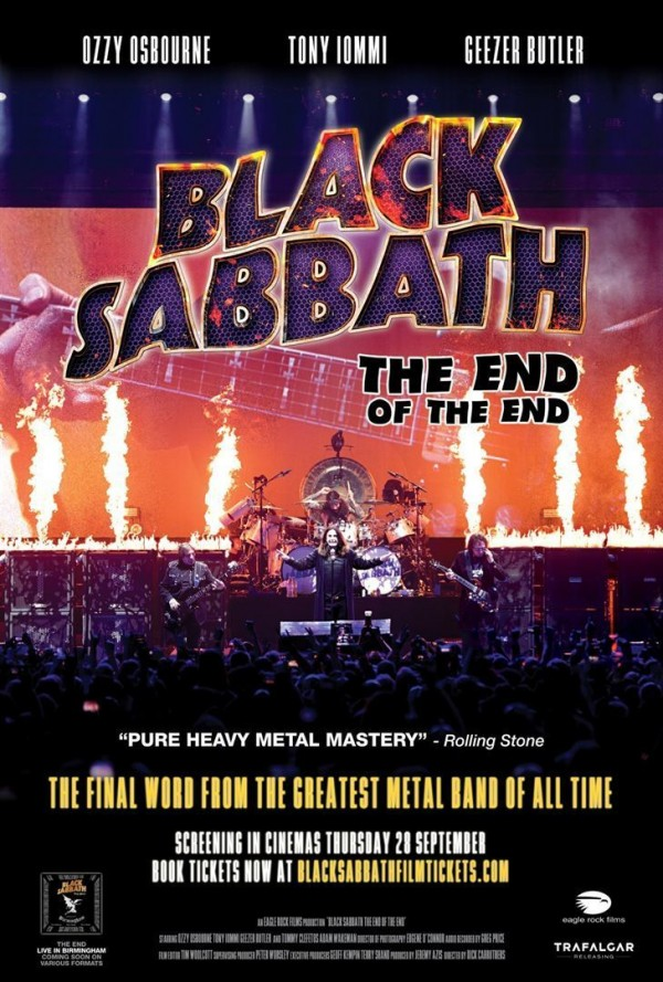 Affiche du film Black Sabbath - The End Of The End