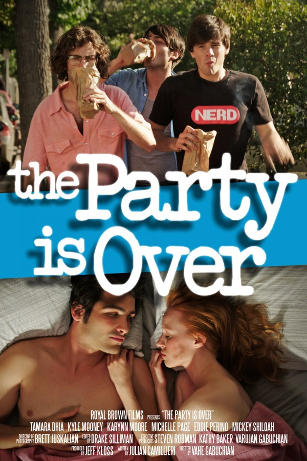 Affiche du film The Party Is Over