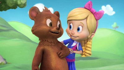 Goldie and Bear