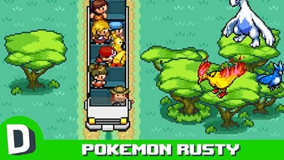 Pokemon Rusty S04E03: Legendaries