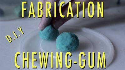 Expèrience - Fabrication de Chewing-gum !
