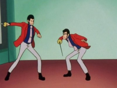Lupin's Enemy Is Lupin